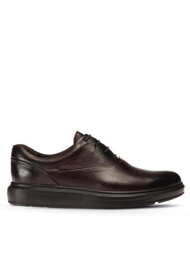 Deery Hakiki Deri Ayakkabı Bordo